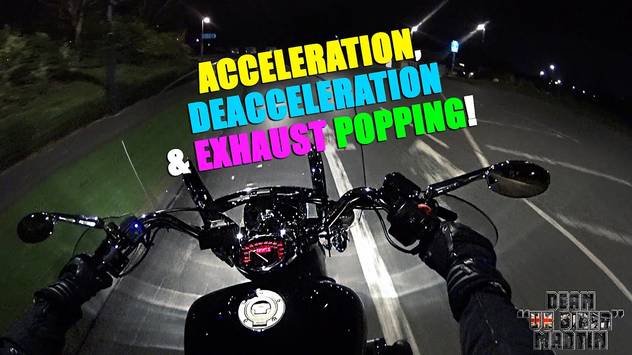 Acceleration, Deacceleration & Exhaust Popping! XVS/VSTAR 1300