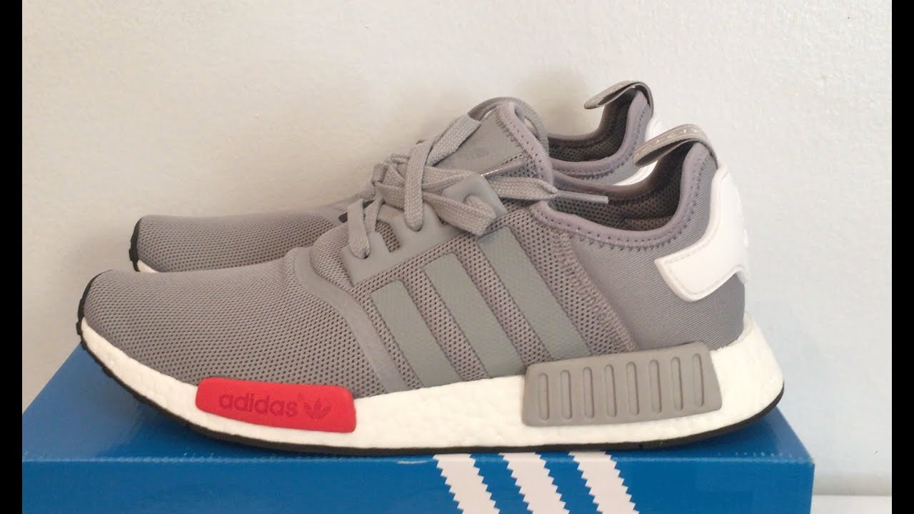 adidas nmd light grey
