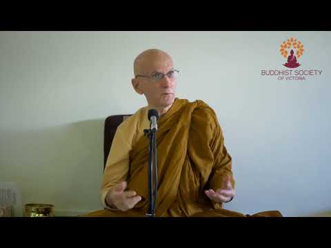 Ajahn Nissarano - What Brought Us Here To Now Walk The Noble Eightfold Path
