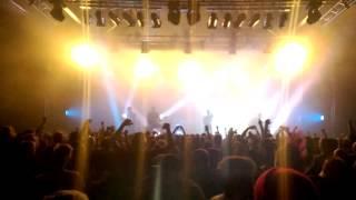 Raised Fist Killing it Pakkahuone Tampere Finland 2015