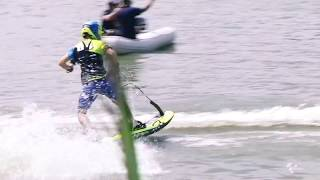 BestBikeMoment MotoGP Czech GP: Moment C - The riders relax at the jetsurf