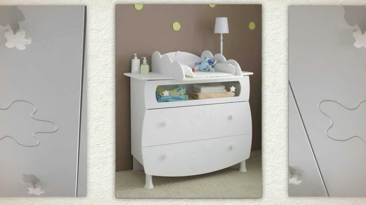 Commode pour b b design flower youtube for Commode pour bebe