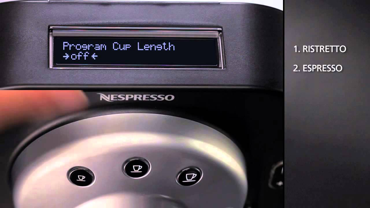nespresso gemini cs100 pro directions for use youtube. Black Bedroom Furniture Sets. Home Design Ideas