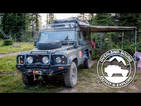 Land Rover Defender 110 Rig Walk Around