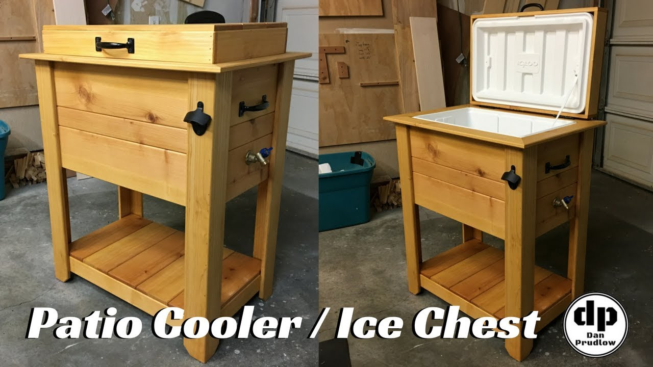 Cooler Box Outdoor Furniture
