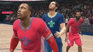 2014 NBA All Star Game Sim (NBA Live 14 - PS4)