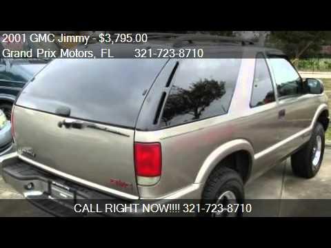 & 2001 GMC Jimmy SLS/1SB 2-Door 2WD - for sale in West Melbour - YouTube
