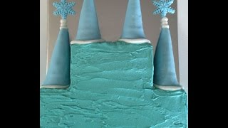 How to Make a Ice Castle Birthday Cake