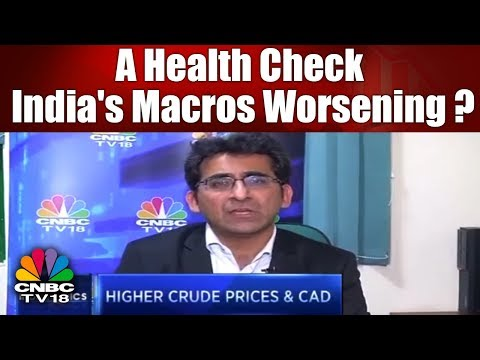 INDIANOMICS: A Health Check: India's Macros Worsening? | CNBC TV18