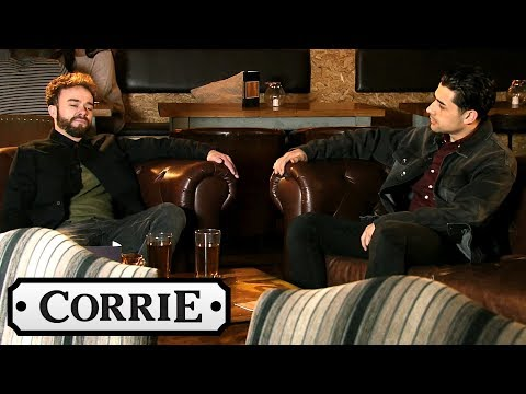 Coronation Street - David and Josh Get Closer | PREVIEW