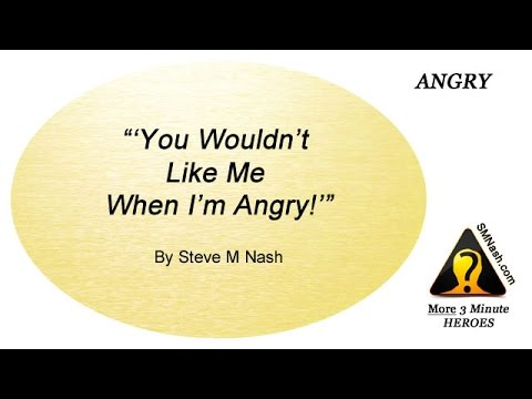 Thoughts About Anger - More 3 Minute Heroes