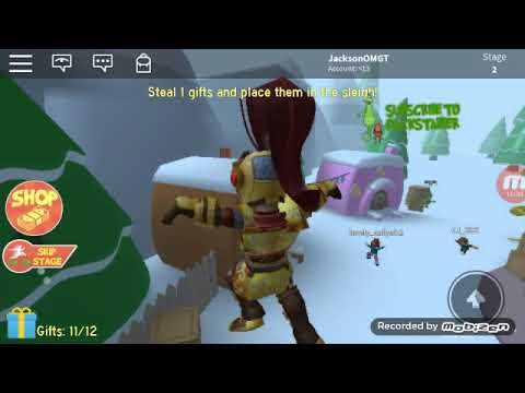 Roblox Christmas Grinch Obby. - YouTube