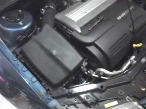 How to Replace the Air Filter on a Saab 9-3 - YouTube