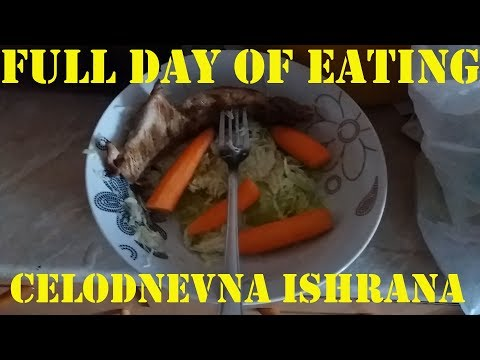 Full day of eating and cardio day - Celodnevna ishrana i cardio day 14.07.2018.