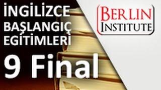 İngilizce Başlangıç Eğitimi 9 Final (HD)