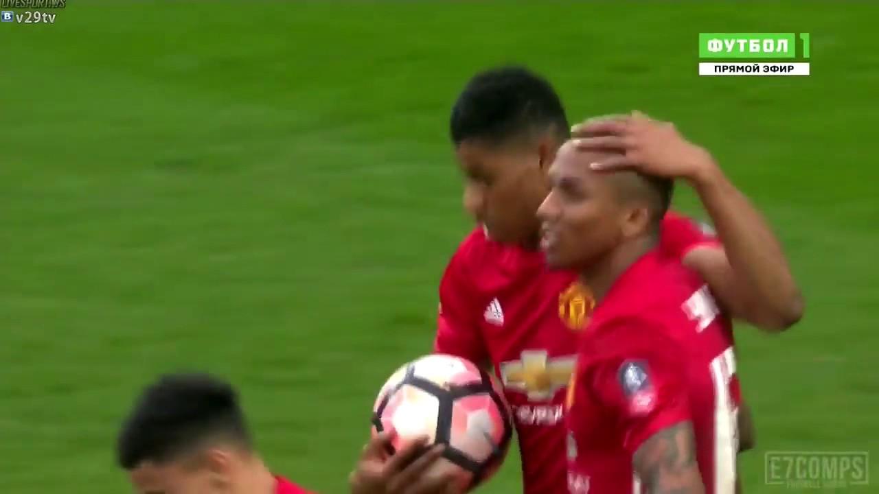 Download Marcus Rashford Goal   Blackburn vs Manchester United 1 1   19022017 HD
