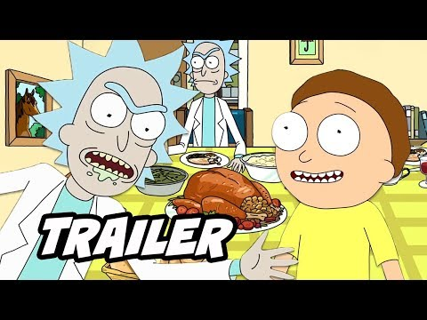 Rick And Morty Season 4 Teaser Trailer - Holiday Easter Eggs And Release Date Breakdown