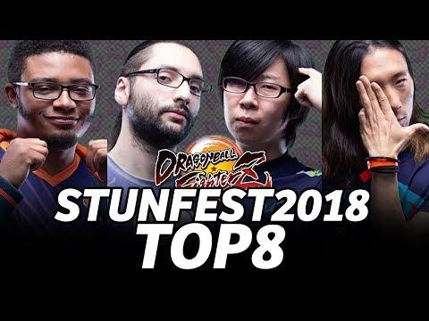 STUNFEST 2018 DBFZ TOP8 (TIMESTAMP) GO1 Moke Dogura Kazunoko Punk NYChrisG Momochi Tachikawa