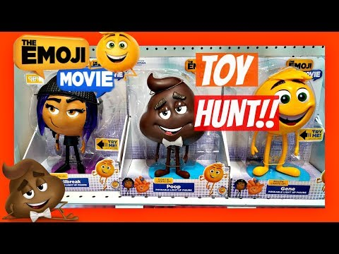 The EMOJI MOVIE TOYS!! TOY HUNT At TOYS R US 2017