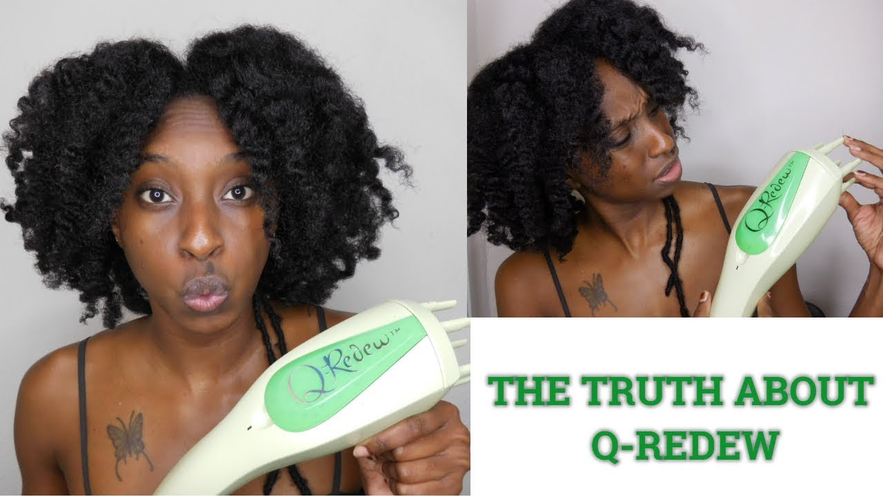 Is Q Redew Worth The Hype Low Porosity Hair Manition Styling Tool