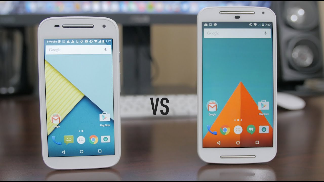 Moto E (2nd Gen) vs Moto G (2nd Gen) - Dogfight! - YouTube