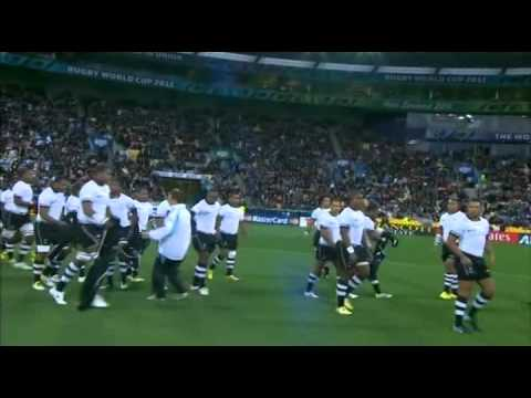 Rugby Union South Africa Vs Fiji At Wellington, New Zealand Part 1.