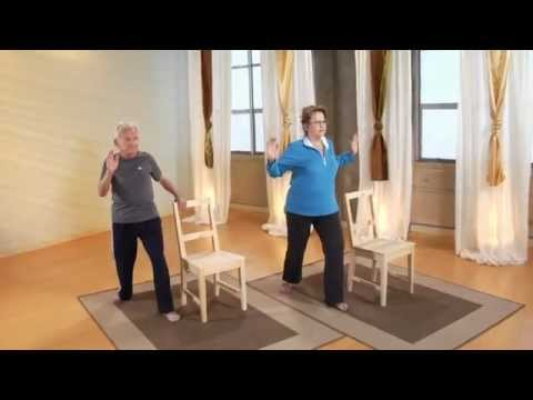 relax into yoga for beginners and seniors dvd trailer