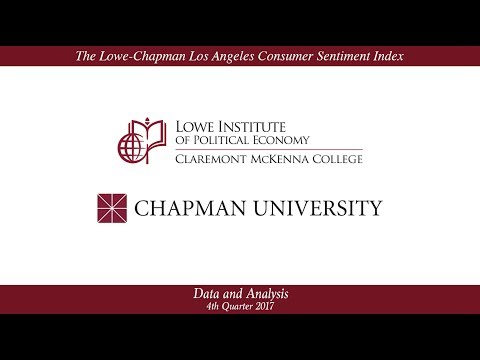 The Lowe-Chapman Los Angeles Consumer Sentiment Index – Q4.2017