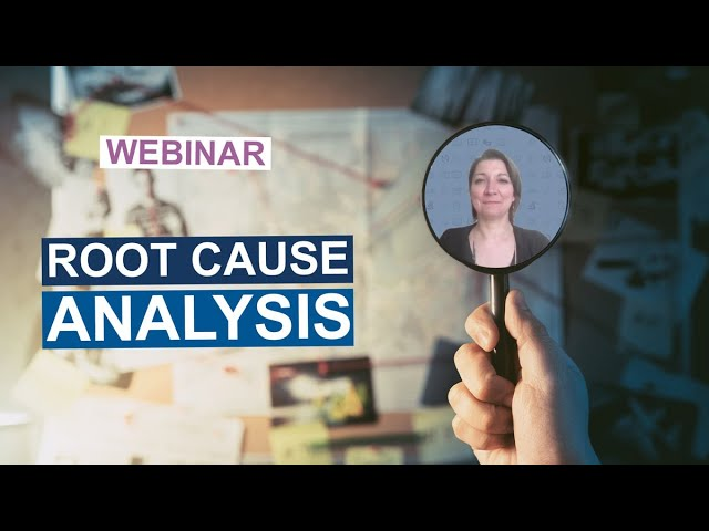 First step in problem solving: the Root Cause Analysis method | N'tech