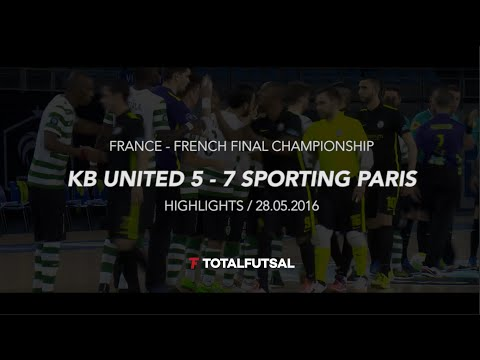 FRANCE - KB UNITED x SPORTING PARIS : Highlights