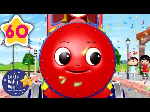 Learn Colors For Kids! Color Train | +More Baby Songs | Nursery Rhymes | Little Baby Bum