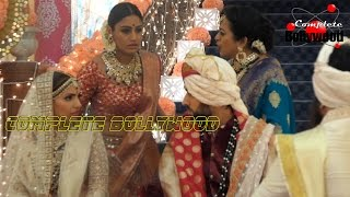 On Location Of TV Serial 39 Ishqbaaz 39 Anika Trying To Stop Shivaay 39 s Marriage With Tia