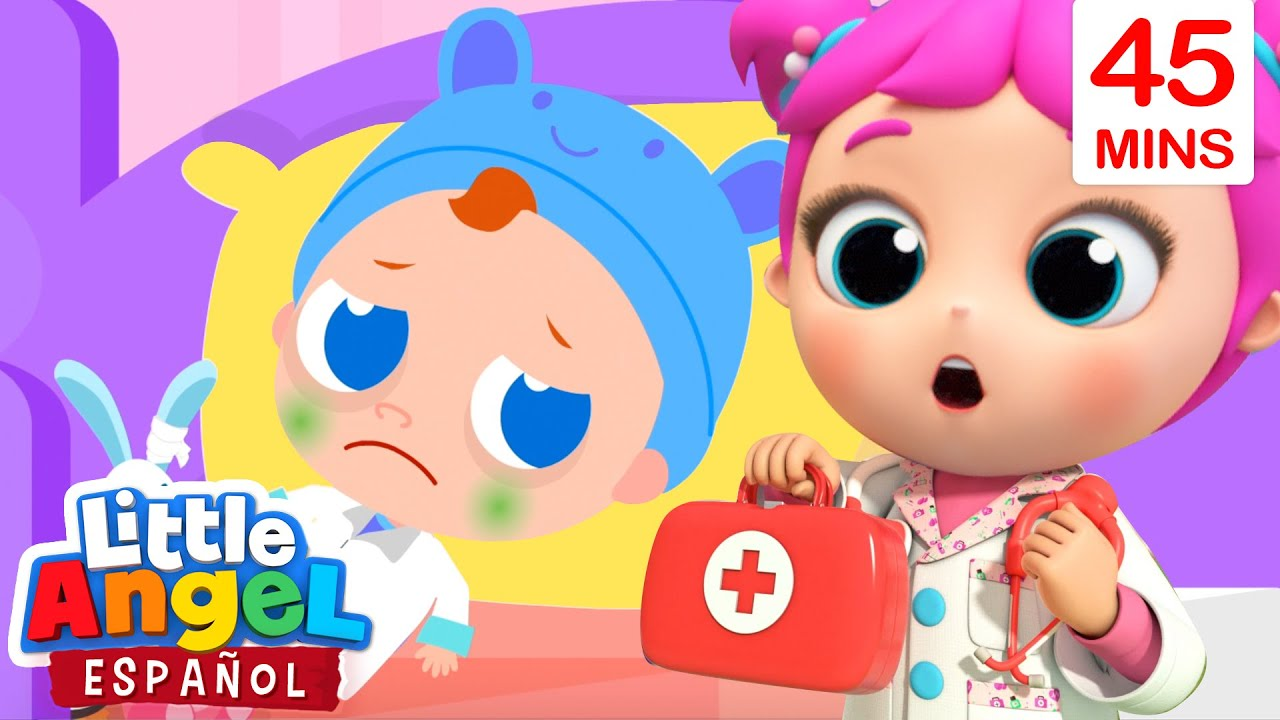 La Doctora Sofi Nos Va A Curar 👩⚕️ | Canciones Infantiles | Little Angel Español