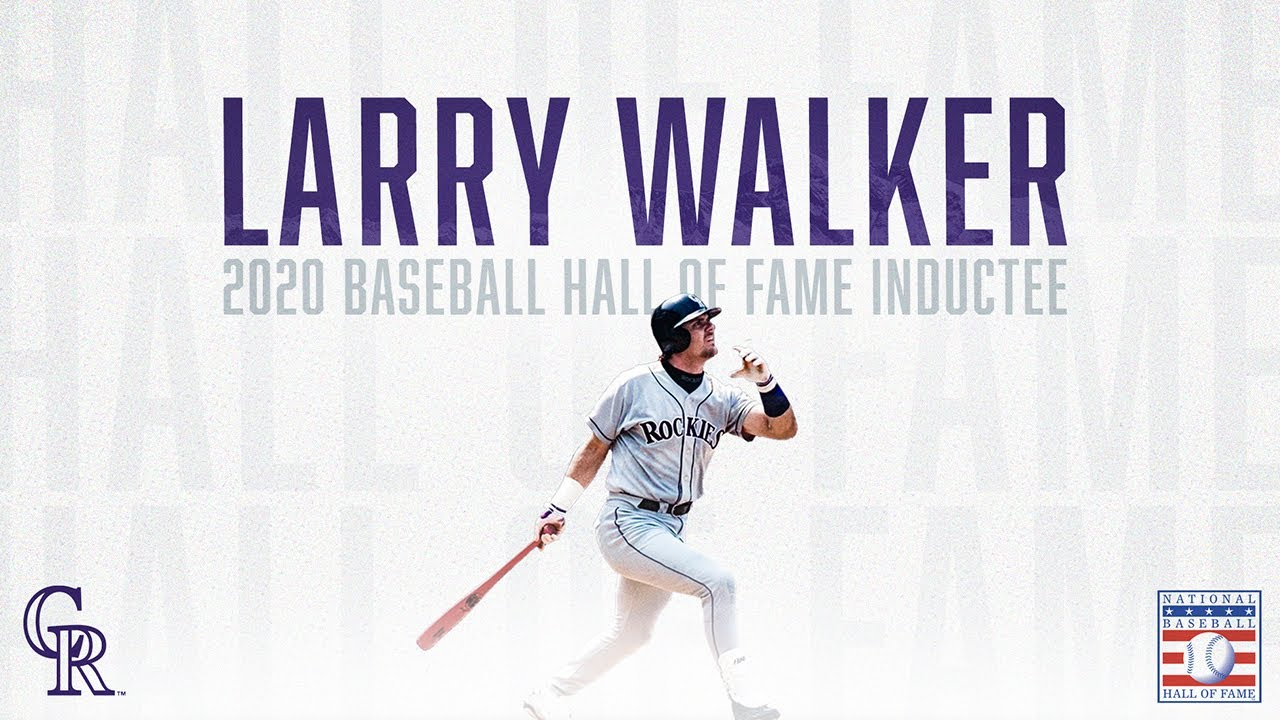 Larry Walker Hall of Fame - Home Isn't Just a Place