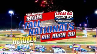 Oct. 6th-7th, 2017: 4th Annual MLRA Fall Nationals and Street Stock Big Buck 50