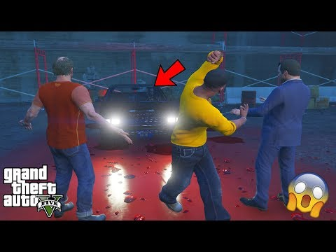 GTA 5 - They All Saw NIKO BELLIC'S GHOST Car (scary easter egg)
