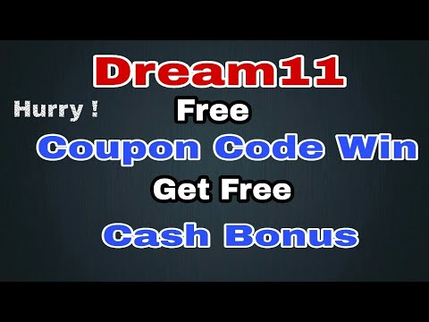 Dream11 Use Free Coupon Code and Get Free cash Bonus Daily | dream11 coupon code free cash bonus |