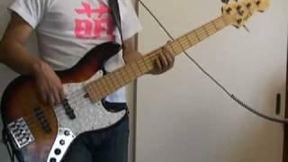 【相対性理論】ミス・パラレルワールドを5弦ベースで弾いてみた。
