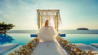 Лучшая свадьба на Пхукете! Мария и Игорь! (организатор Phuketwed.com)