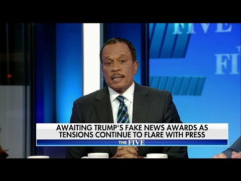 Juan Williams on Trump Fake News Awards