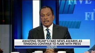 Juan Williams on Trump Fake News Awards