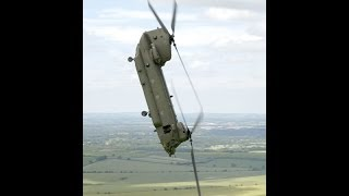 Extreme ch47 chinook pilot landing