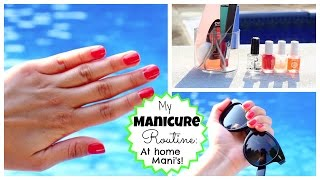 My Manicure Routine: At Home Mani's ! ♡ EASY FREE AND FUN ♡ 50VoSummer Thumbnail