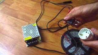How to Connect LED Driver/Transformer to Flexible LED strip