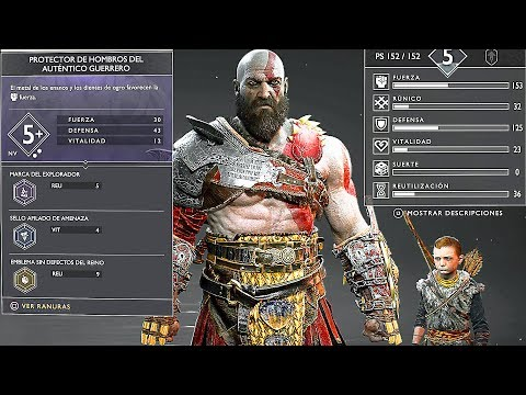 GOD OF WAR 4 - NEW 20 Minutes Gameplay Demo + Kratos New Gear & Armor PS4 (2018)