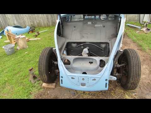 VW Beetle pan to body part 1