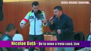 NICOLAE GUTA - DE LA MINE A TREIA CASA, LIVE, ZOOM STUDIO