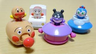 アンパンマン スイッチでとびだす!進め!アンパンマン Anpanman Candy Toys