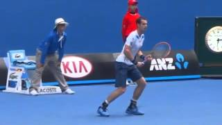 Andy Murray Serve Returns Points at 120 fps