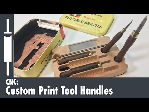 DIY Tool Handles on a CNC Router
